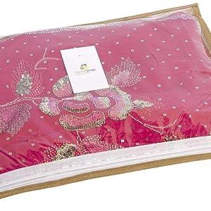 single saree cover combo,single saree cover with zip,single saree cover bags with zip,good quality