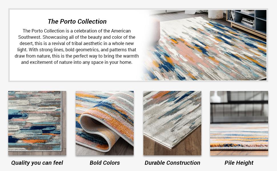 Abani Rugs Porto PRT140 collection area rugs