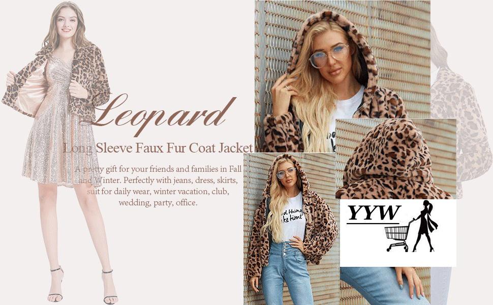 Leopard hoodies