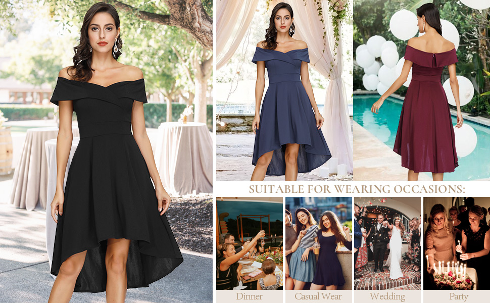 Wedding Guest Party Cocktail Dress