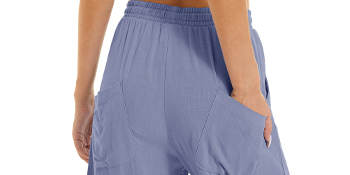 running pants for women cotton linen lounging joggers pants summer regular fit leisure