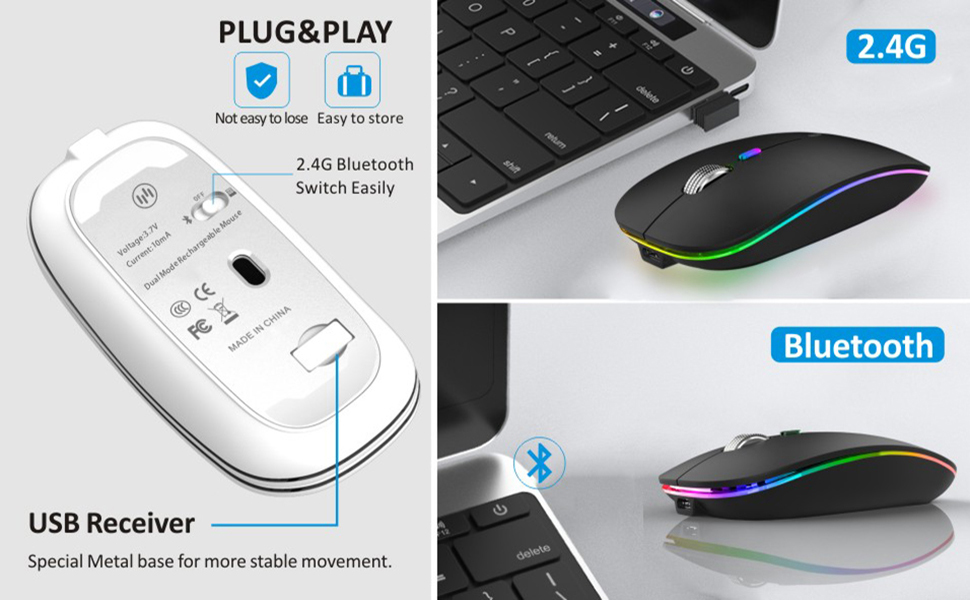 optical wireless mouse bluetooth