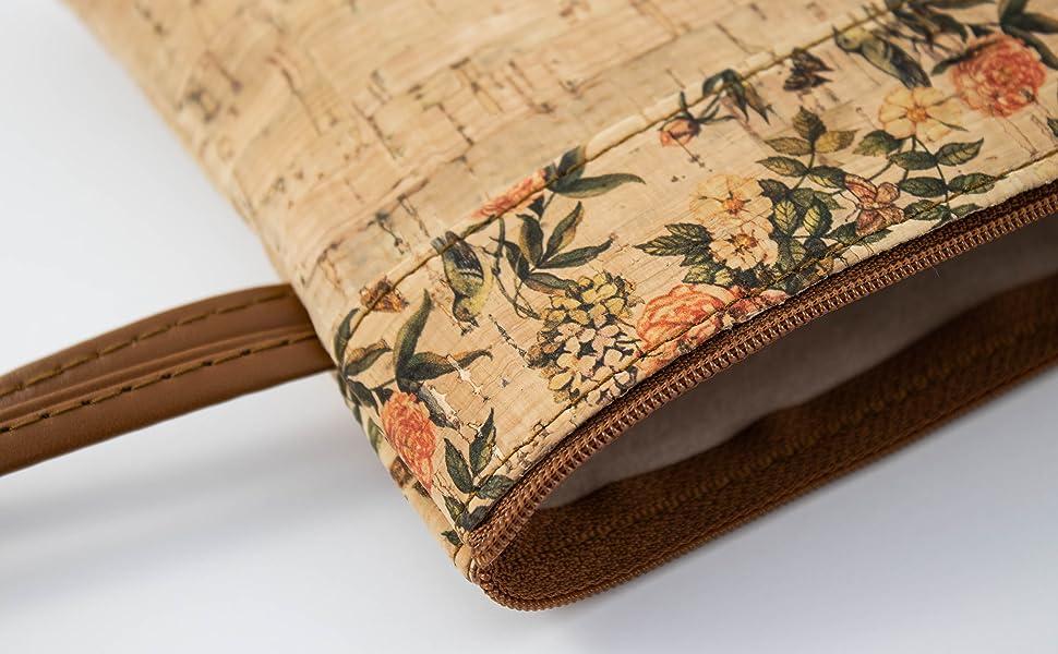 SFY Bolso porta todo de corcho natural fabricado a mano en España (BCORC-01): Amazon.es: Zapatos y complementos