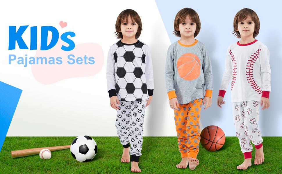 Tcombo Future All Star Baseball Sports Kids Pajama Set