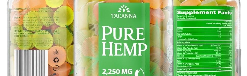 hemp gummies natural ultra value hemp product hemp oil gummies non gmo multivitamin  gelatin free