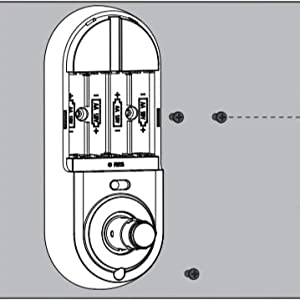 deadbolt lock with handle