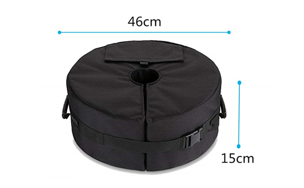 Details about  /Umbrella Parasol Tent Base Stand Weights Bag Patio Garden Sun Shade Sand Bags