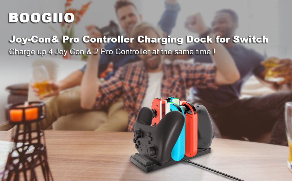 Controller Charger for Nintendo Switch
