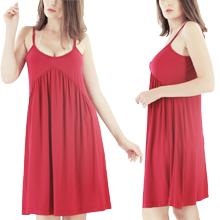 red slip dress for women