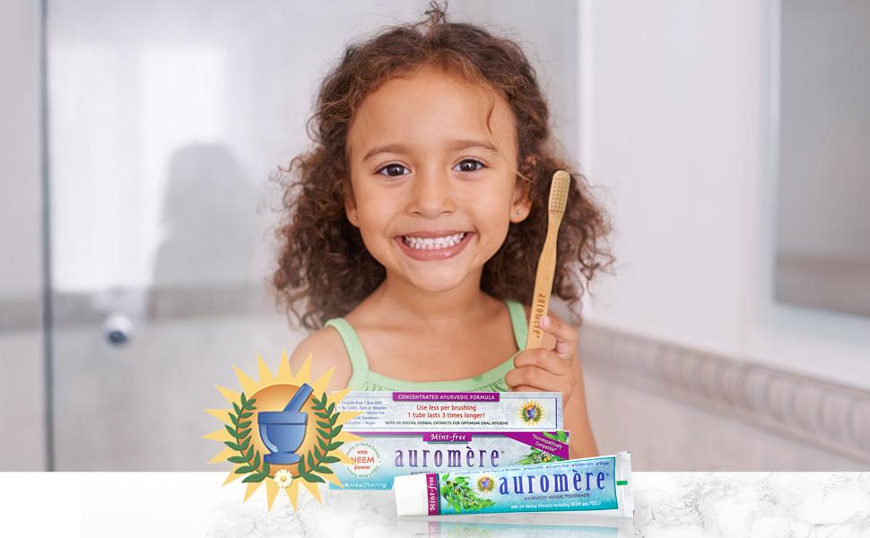 auromere no mint toothpaste
