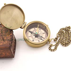 handcrafted compass