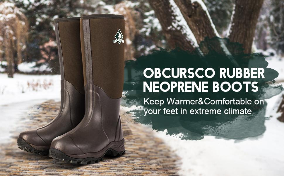 Neoprene Waterproof Hunting Boot