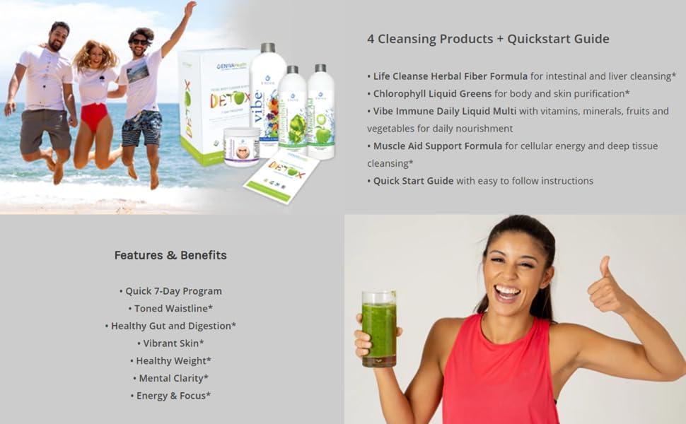 Eniva detox benefits