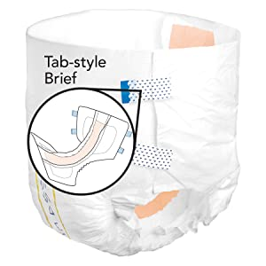 tab-style brief