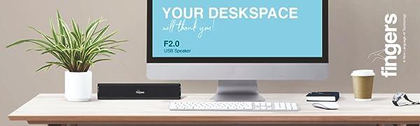 FINGERS F2.0 USB Speaker