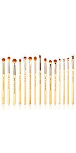 Jessup bamboo makeup brushes