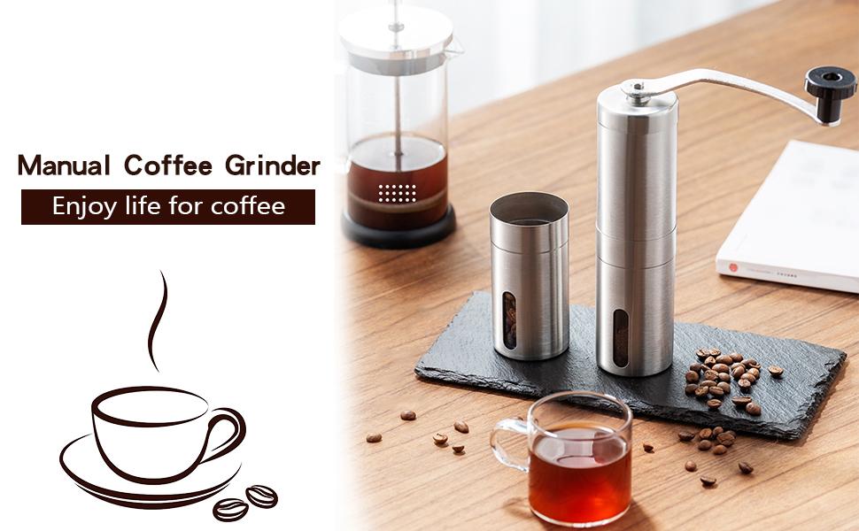 Manual Coffee Grinder, enjoy fresh coffee!