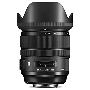 Sigma, 24-70mm F/2.8 DG OS HSM Art Lens for Nikon F