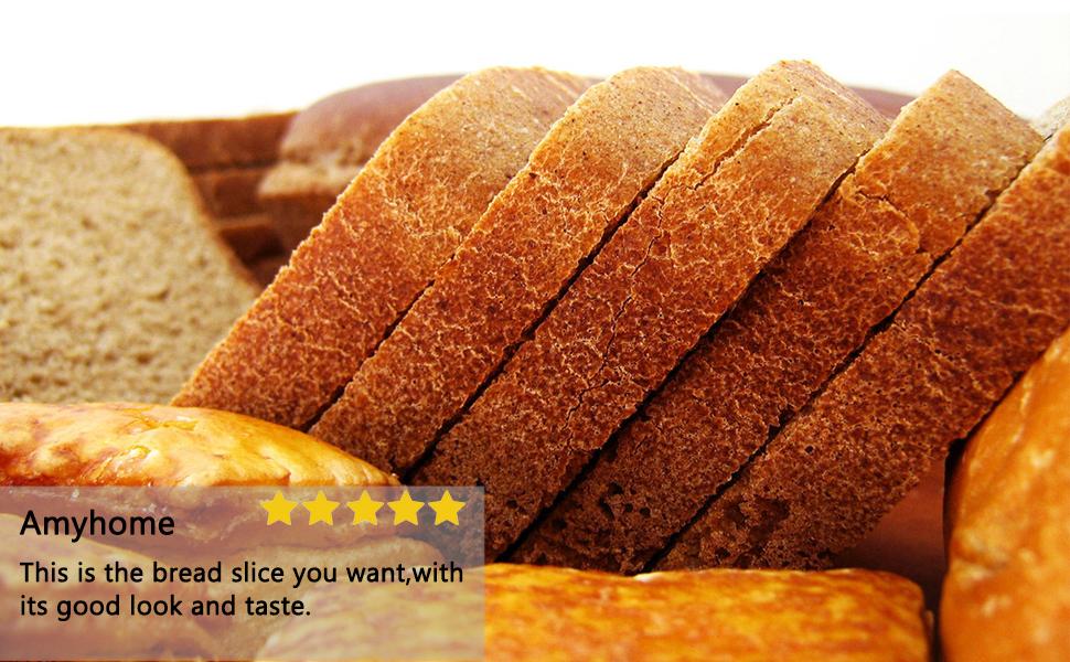 Bamboo Bread Slicer for Homemake Bread