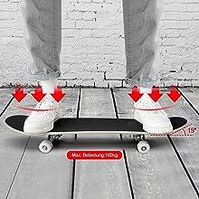 standard skateboard patinetas para niños patinetas kids skateboards complete skateboard