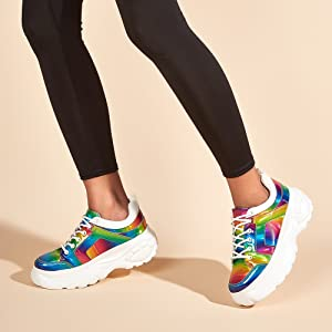 RAINBOW SHOES FOR WOMEN