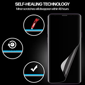 Samsung s9 TPU screen Protector Nano