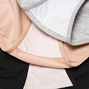 Crotch inner lining made of 100% cotton fabric