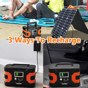 solar powered generator  200W Peak Power Station, Flashfish CPAP Battery 166Wh 45000mAh Backup Power Pack 110V 150W Lithium Battery Pack Camping Solar Generator For CPAP Camping Home Emergency Power Supply eb99e002 07c3 4262 893f 21b4b213e13d