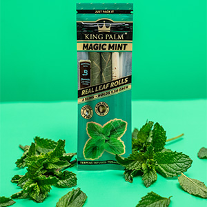 King Palm Magic Mint Flavored Wraps