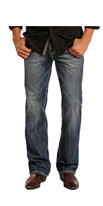 Rock and Roll Denim Double Barrel Jeans