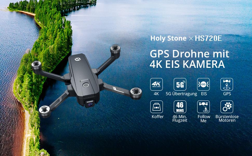 holystone hs720 gps drohne 4k kamera hd eis best drohnen