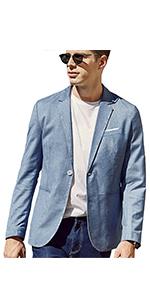 Casual Solid Blazer Jacket