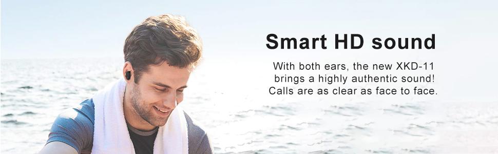 Smart HD sound Wireless Earbuds