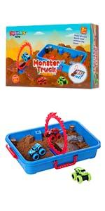 Monster Truck Sand Play Set