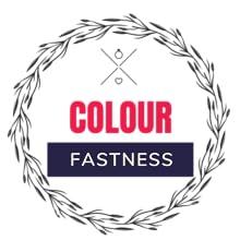 no fading, colour fastness