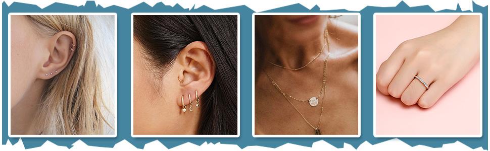 cartilage earring hoop