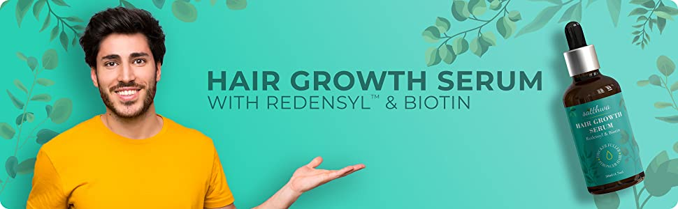 Hair Growth Serum With Redensyl & Biotin