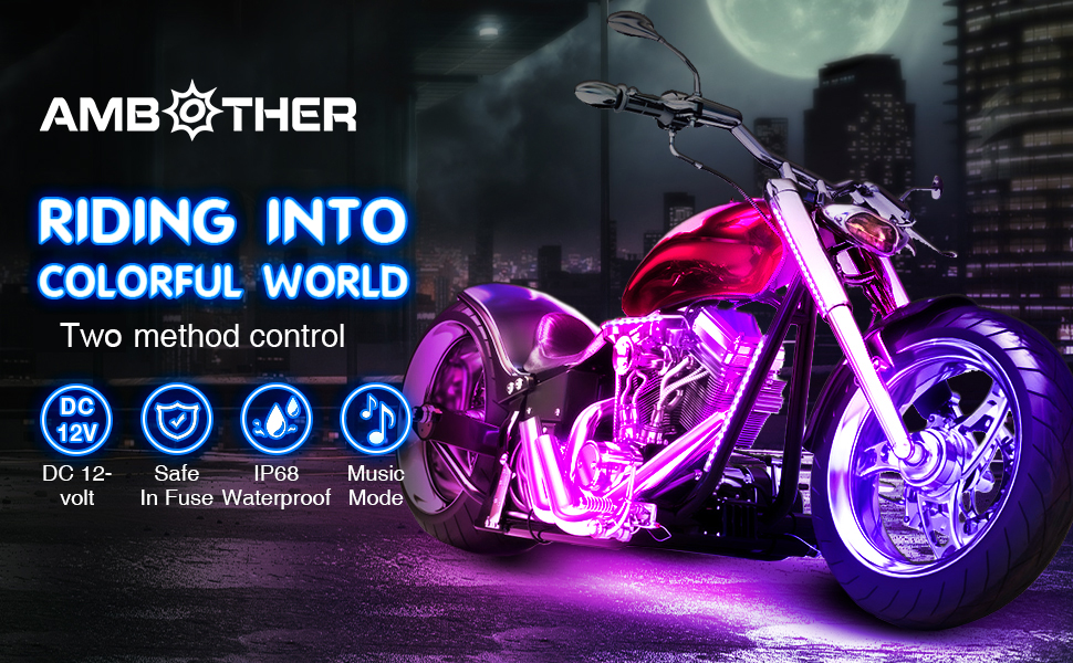 motorcyle led kits