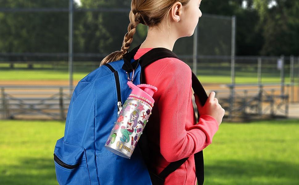 Water bottle for kids kids water bottle bpa free water bottle gifts for girls craft kits for kids