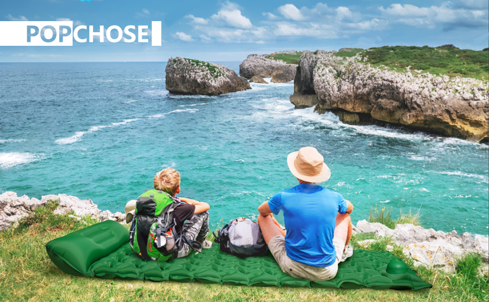 THE MOST DURABLE AND COMFORTABLE CAMPING SLEEPING PAD