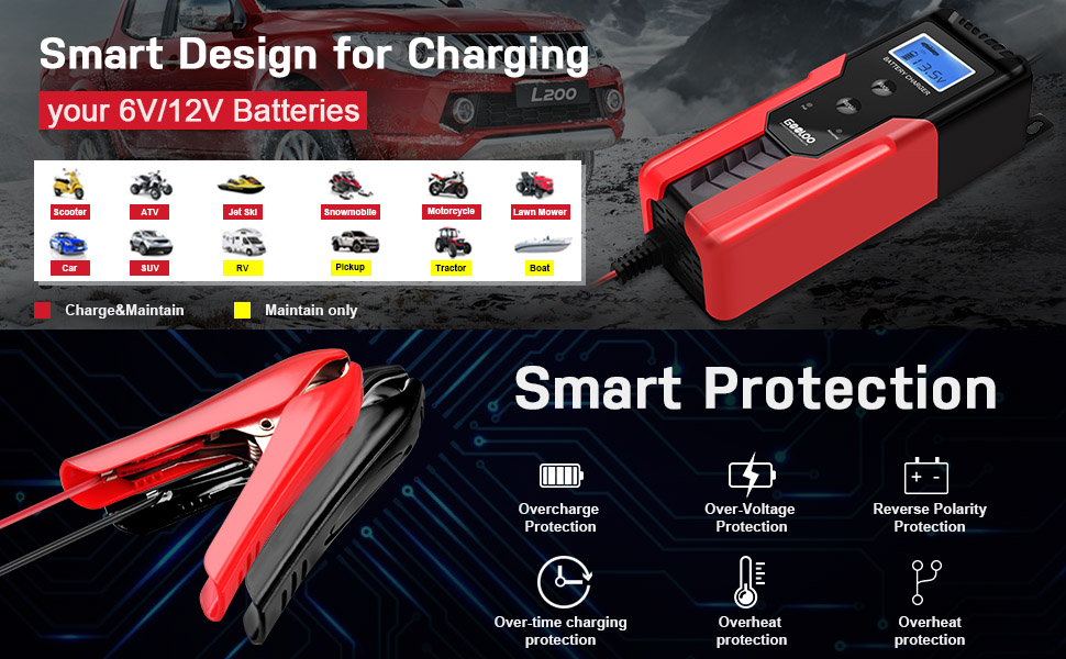 Automotive Smart Battery Maintainer
