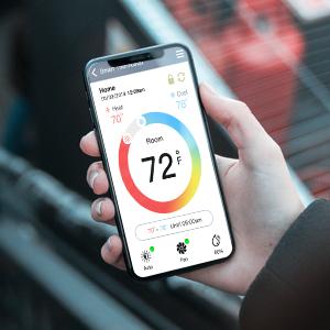 wifi thermostat,home thermostat,app thermostat,phone themrostat,programmable,alexa thermostat