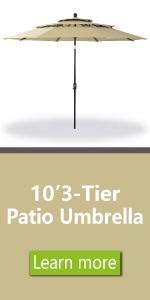 3 tier umbrella