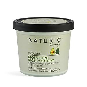 avocado moisture rich body yogurt butter long lasting sensitive dry 48 hours natural organic