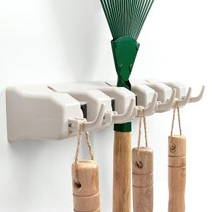 broom rack wall mount