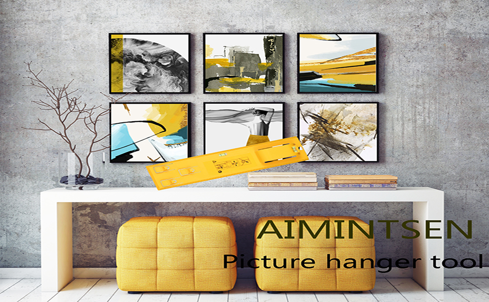 AIMINTSEN Picture hanger tool