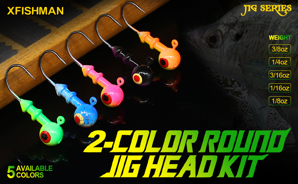 Round Jig Heads
