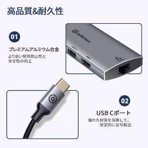 ANKMAX P631HG USB C HUB