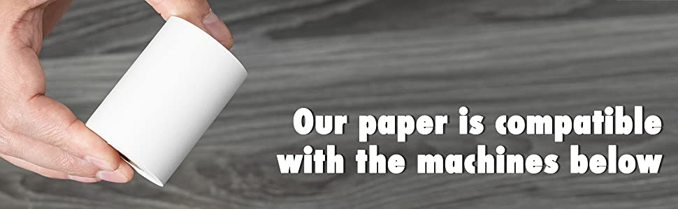 2-1/4' x 70 feet thermal paper rolls