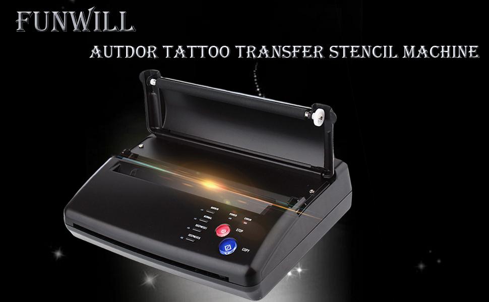 Tattoo Transfer Stencil Machine funwill